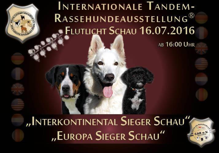 Dog Show Hundeschau 2016 CACIB Germany